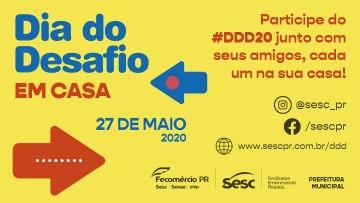 Participe do Dia do Desafio 2020 pela internet
