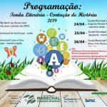 Sesc Marechal Cândido Rondon participa da Tenda Literária junto à Prefeitura do município