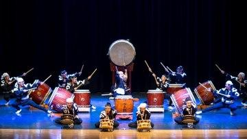 Oficina de Tambores Japoneses com o Grupo Nipo-Brasileiro de Taiko Ishindaiko – 02/06/2019 – 10:00