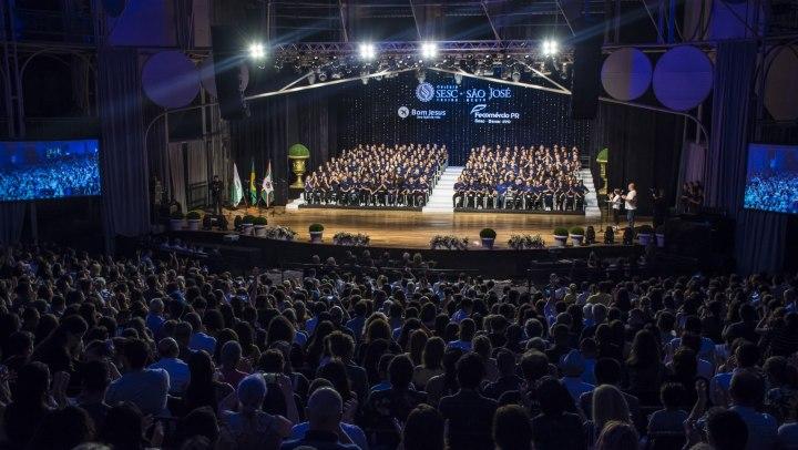 Formatura do Colégio Sesc São José