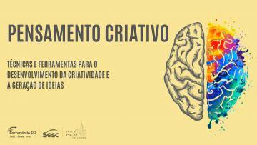 Oficina: Pensamento criativo