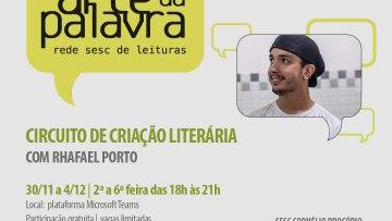Oficina de criação literária – 30/11/2020 a 04/12/2020 – 18:00