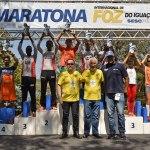 Brasil e Etiópia são os destaques da 12ª  Maratona Internacional de Foz do Iguaçu Sesc PR