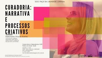 Curadoria: Narrativa e processos criativos – 21/11/2019 – 19:00