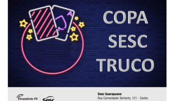 COPA SESC TRUCO – 07/02/2020 – 19:00