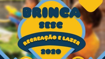 Brinca Sesc – 21/03/2020 – 13:30