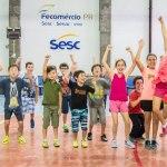 Sesc PR promove atividades de férias para crianças e adolescentes
