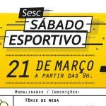 Sábado Esportivo – edição de março