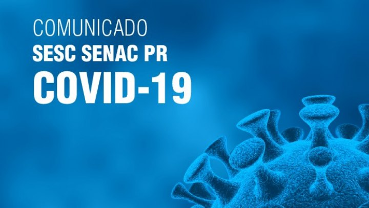 Comunicado Sesc Senac PR