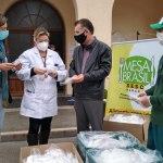 Campanha emergencial doa duas mil máscaras ao Hospital do Trabalhador