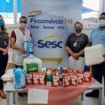 Campanha estadual do Mesa Brasil capta mais de 227 toneladas de produtos