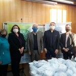 Funpar repassa 20.500 máscaras para a campanha estadual do Mesa Brasil do Sesc PR