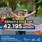 Sesc PR presta homenagem ao Dia do Maratonista