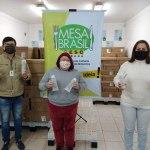 Mais de 20 mil pessoas são beneficiadas com frascos de álcool em gel repassados pela Funpar à Campanha Estadual do Mesa Brasil