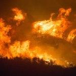 Incêndios em período de estiagem severa
