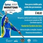 É hoje: Live de encerramento da Maratona Solidária