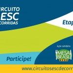 Circuito Sesc de Corridas Etapa Virtual – 09/11/2020 a 13/12/2020 – 08:00