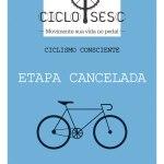CICLO SESC – NOTA DE CANCELAMENTO