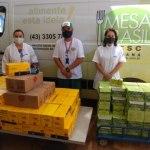 Mais de 672 toneladas de produtos são arrecadadas pela Campanha Estadual do Mesa Brasil
