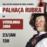 Sesc PR apresenta Palhaça Rubra em um espetáculo on-line para todas as idades
