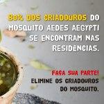 Sesc alerta – Dengue mata! Mude sua atitude!