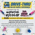 Drive-thru da Campanha Sesc de Material Escolar será neste sábado (10)