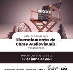 Sesc PR abre edital para selecionar obras de curta, média e longa-metragem