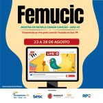 Femucic apresenta músicas de três estados nesta quinta-feira (26)