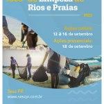 Sesc PR realiza programação em alusão ao Dia Mundial de Limpeza de Rios e Praias