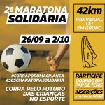 2ª Maratona Solidária Sesc PR é um incentivo para corredores e futuros atletas