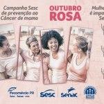 Unidades do Sesc PR realizam programação em alusão ao Outubro Rosa