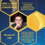 Dr. Jairo Bouer é o convidado de hoje (20) do Sesc em Rede
