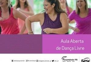Aula aberta de dança – 26/10/2021 – 17:00