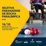 Sesc Portão promove seletiva de Bocha Paralímpica